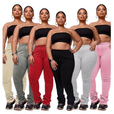 Hot Selling Plus Size Winter Clothes For Women Casual Fashion Lady Pants Women Bottoms Trousers Lady Trousers