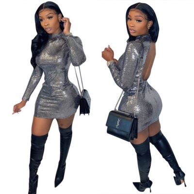 Latest Design Backless Party Club Wear Sexy Womens Clothing New Casual Dress Women Dress Short Dresses