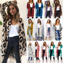 New Arrival Overall Printed Cardigan Elegant Casual Wear Fashion Women Clothing Womens Coats 2020 Winter Coat
