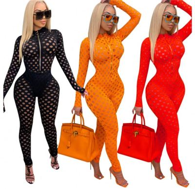 New Arrival Strethcy Sexy New Winter Women Fashion Clothing 2020 Women One Piece Jumpsuits And Rompers