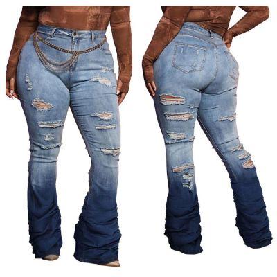 0112643 Newest Design Jeans Pants Women Pants Jeans