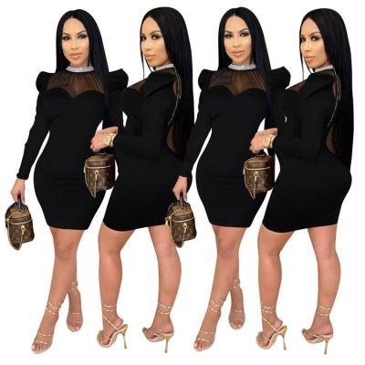 0112631 Best Design Casual Dress Girl Dress