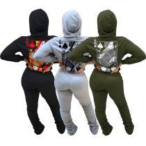 0112322 Wholesale Fashion Womens Winter Clothing 2020 Womens Two Piece Set