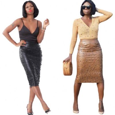 0112307 Best Design Women Fashion Clothing Women Leather Skirts