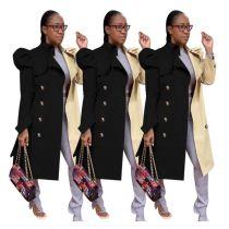0112645 Wholesale Price Women Fashion Coat Casual Coat