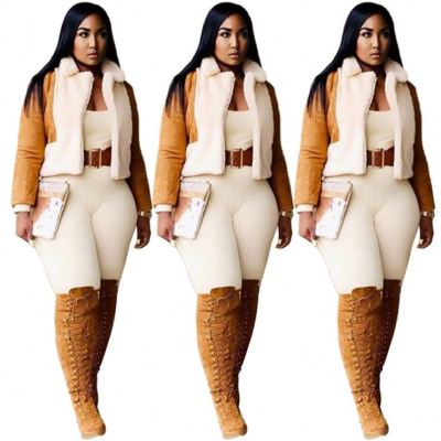 High Quality Cool Thick Splice Fashion 2020 Womens Jacket And Coats Women Clothing Winter Coat For Women