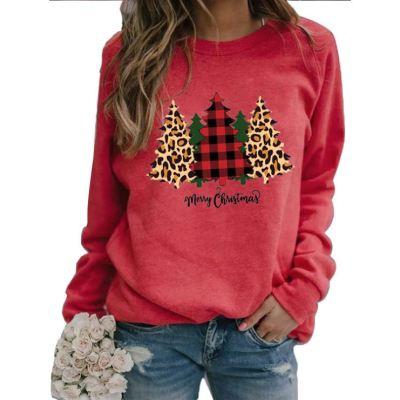 Good Quality Printed New Women Winter Clothing 2020 New Christmas Womens Hoodies Sweatshirts For Women