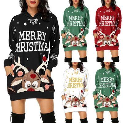 Best Seller Long Sleeves New Women Winter Clothing Christmas Women Tops 2020 Long Sleeve Hoodies For Women