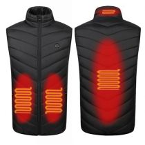 Hot Selling Plus Size Heated Vests For Men Vest Tops Jacket With Heating Heated Jacket 2020
