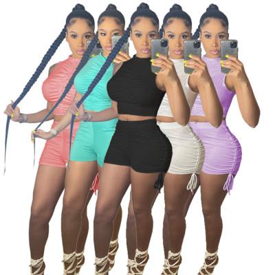 1030810 Best Design Women Clothes 2021 2 Piece Outfits Women Sets Two Piece