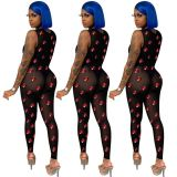 MOEN Good Design Mesh See Through Combinaison femme Women One piece Jumpsuits 2021 Women Jumpsuits And Rompers