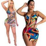 1030801 Hot Onsale Women Clothes 2021 Sexy Dresses Women Lady Elegant Casual Dress