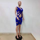 New Arrival MOEN Sleeveless Trendy Summer Vestidos casual Fashion 2021 Woman Casual Dress Women Sexy Dresses