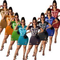 MOEN Fashionable Summer 2021 Vestidos mujer Casual Dresses Women Lady Elegant Sexy Short Mini Dress