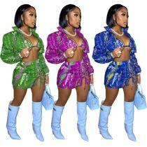 MOEN Best Quality Skirt New 2021 pakaian 3 Piece Set Women Thress piece Sets Womens Clothing