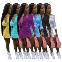 MOEN Best Seller Pure Color Vestidos ninas Womens Clothes Casual Dresses 2021 Women Elegant Dress