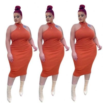 MOEN High Quality Bodycon Plus Size Vestidos mujer Woman Clothing 2021 Plus Size Dress Women Sexy Dresses