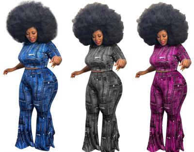 MOEN Latest Design Trendy Clothes Stretchy Frauen setzt 2 Piece Set Women Clothing Plus Size Two Piece