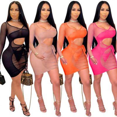 1033119 Best Seller 2021 Fashion Clothing Casual Dress Women Stylish Sexy Dress