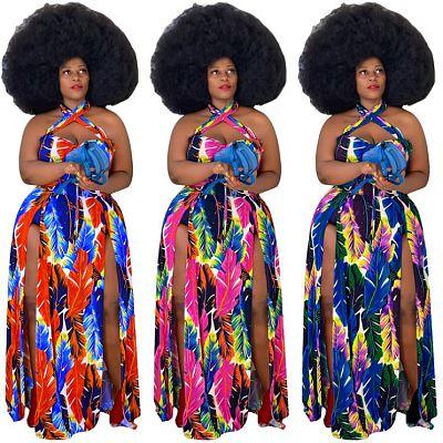 1040109 Best Seller 2021 Summer Women Clothes Plus Size Women Clothing Dresses