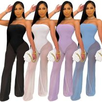 1033114 New Arrival 2021 Summer Fashion Clothing Women One Piece Jumpsuits And Rompers