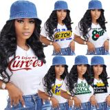 1040640 New Style 2021 Casual Women T Shirt