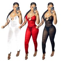1040741 Hot Selling Casual 2021 Woamn Bodycon one piece Jumpsuit