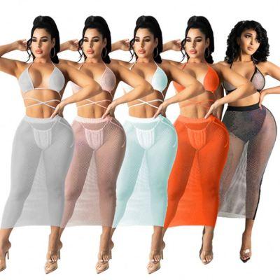 1041917 Best Seller Women Clothes 2021 Summer Outfit Two Piece Skirt Set