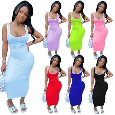 1041920 Best Design Women Clothes 2021 Summer Dresses Women Lady Elegant Casual Dress