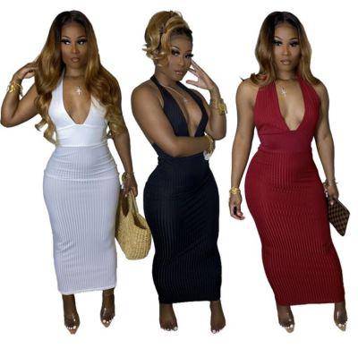 1042103 New Style Women Clothes 2021 Summer Dresses Women Lady Elegant Casual Dress
