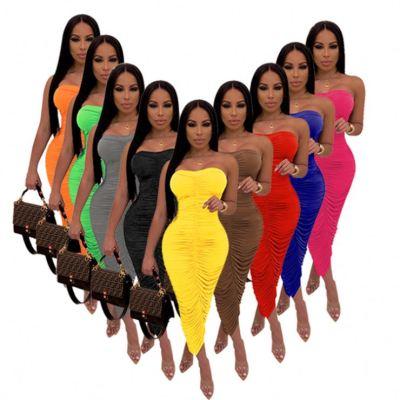 1042118 New Style Women Clothes 2021 Summer Dresses Women Lady Elegant Casual Dress