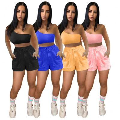 1042209 Best Design Women Clothes 2021 Summer Outfits 2 Piece Set Women Clothing