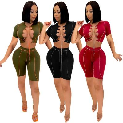 1042215 Best Design Women Clothes 2021 Summer Outfits 2 Piece Set Women Clothing