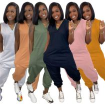 1042204 Hot Selling Women Clothes 2021 Summer Women Plus Size Jumpsuits And Rompers