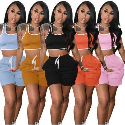 1042213 Best Design Women Clothes 2021 Summer Outfits 2 Piece Set Women Clothing