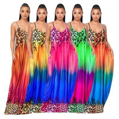 1042208 Design Fashion Women Clothes 2021 Summer Dresses Women Lady Elegant Casual Dress