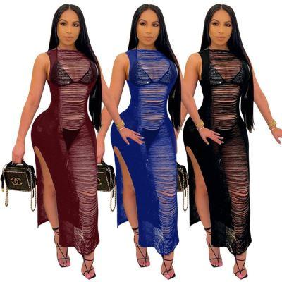 1042203 Design Fashion Women Clothes 2021 Summer Dresses Women Lady Elegant Casual Dress