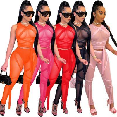 1042202 Best Design Women Clothes 2021 Summer Outfits 2 Piece Set Women Clothing