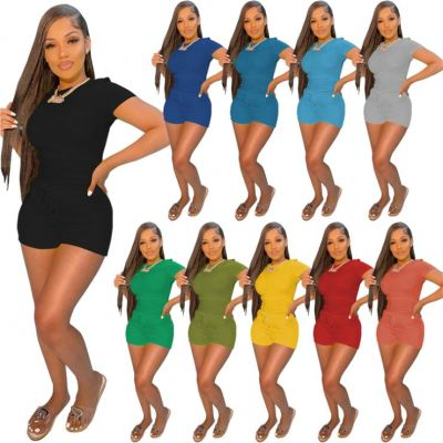 1042211 Best Design Women Clothes 2021 Summer Outfits 2 Piece Set Women Clothing