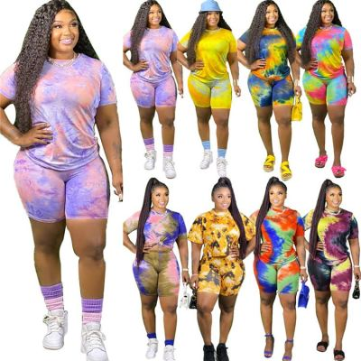 1042609 Hot Onsale 2021 Summer Women Clothes Outfits Two Piece Set Tracksuit For Women