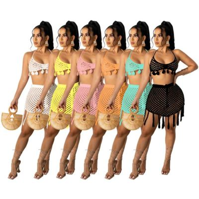 1042716 Fashionable 2021 Summer Beachwear Swimwear Sexy Bikini Women Two Piece Swimsuit