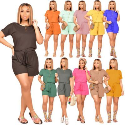 1042712 Best Seller Women Clothes 2021 Summer Women One Piece Jumpsuits And Rompers