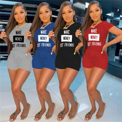 1042713 Hot Selling 2021 Summer Women Fashion Clothing Womens 2 Piece Outfit