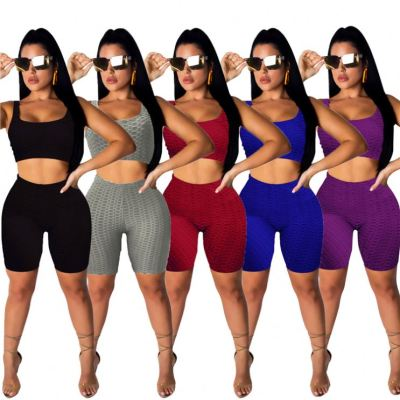 1042803 New Style 2021 Women Fashion Clothing Women 2 Piece Outfits
