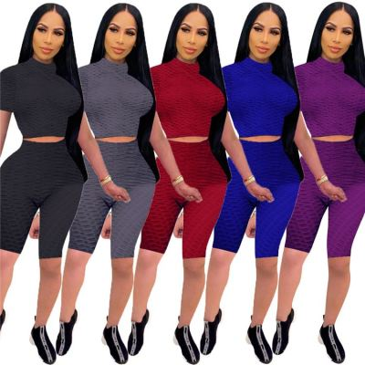 1042802 New Style 2021 Women Fashion Clothing Women 2 Piece Outfits