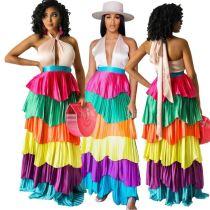 1042914 Best Seller 2021 Summer Women Fashion Clothing Woman Casual Dress