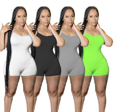 1050517 Best Design Women Clothes 2021 Summer Women One Piece Jumpsuits And Rompers