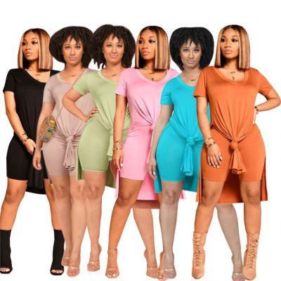 1050520 Design Fashion Women Clothes 2021 Summer Outfits Women 2 Piece Set Clothing