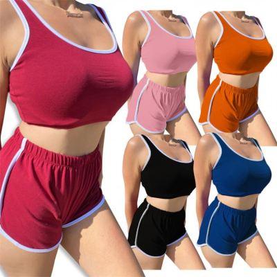 1050652 Wholesale women Sets Two Piece Pants Tshirt Sets