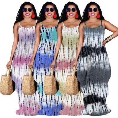 1050611 Latest Design Women Fashion Clothing 2021 Summer Woman Casual Dress